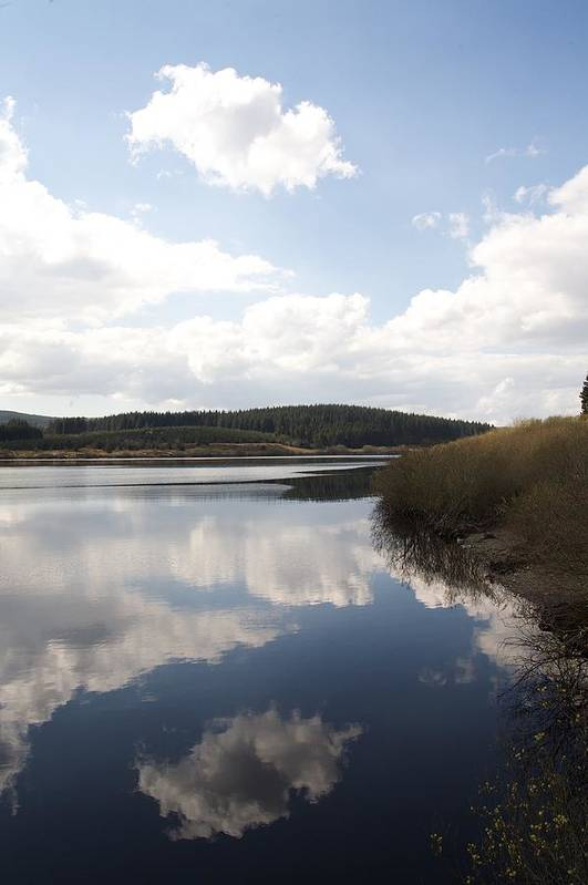 Reservoirs Art Print featuring the photograph Alwen Reservoir by Christopher Rowlands
