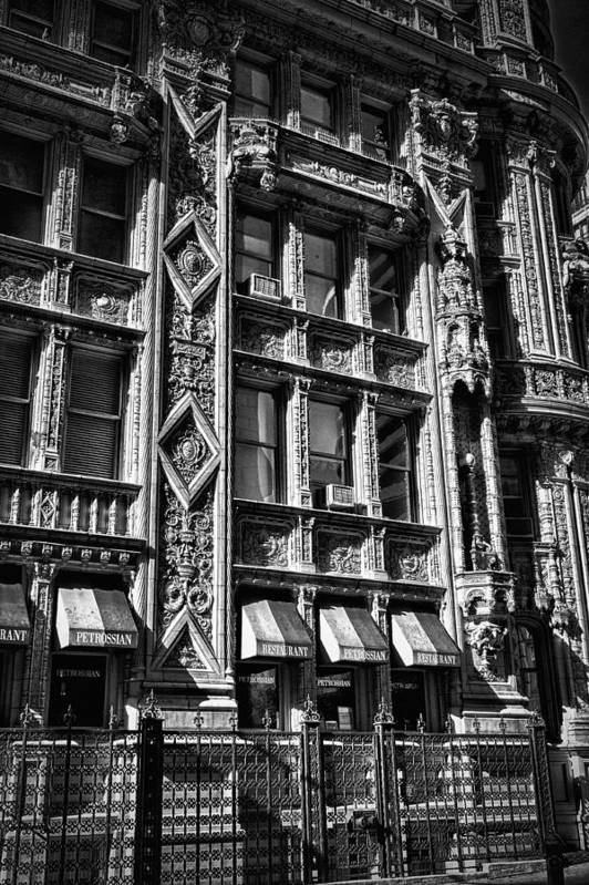 Black Russian Art Print featuring the photograph Alwyn Court Building Detail 14 by Val Black Russian Tourchin