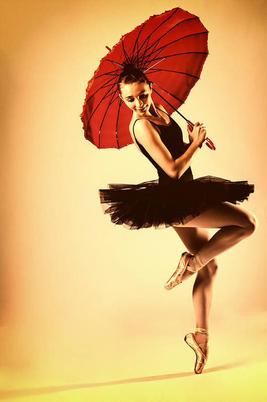 Ballet Art Print featuring the photograph Audrey Would by Monte Arnold