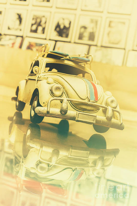Automotive Memorabilia Art Print by Jorgo Photography - Wall Art Gallery