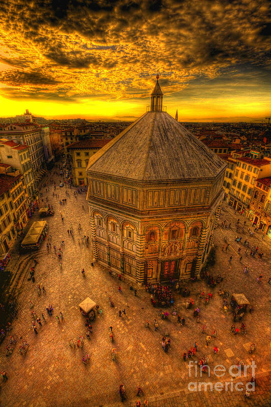 Baptistery Art Print featuring the photograph Baptistery Of St John by Clint Hudson