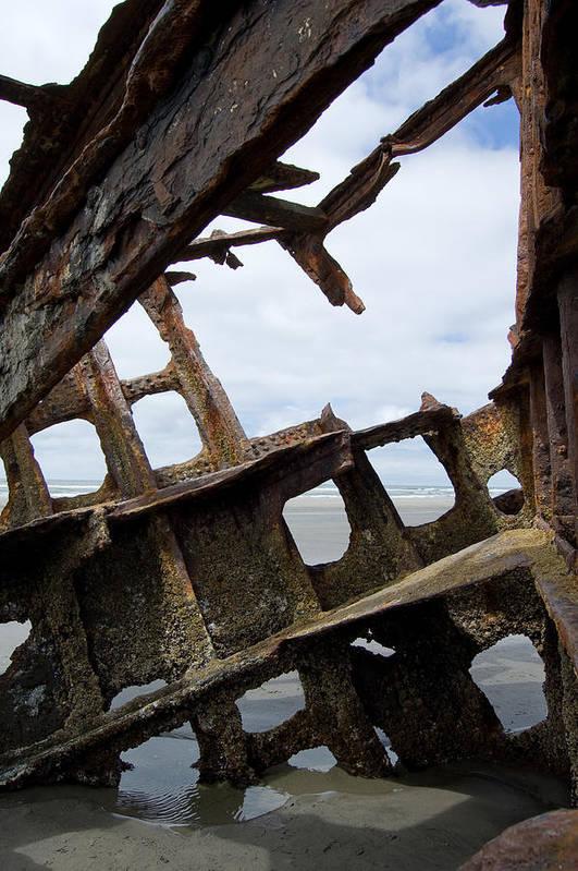 Shipwreck Art Print featuring the photograph Bone Spurs by Jennifer Owen