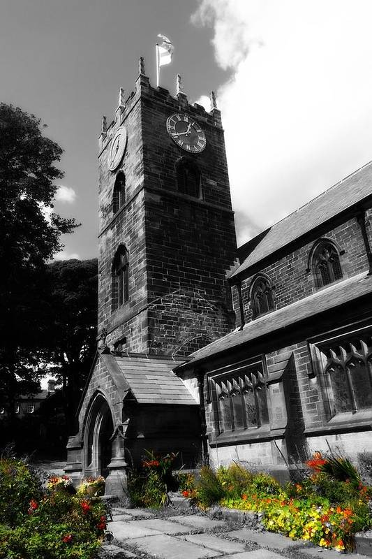 Church Art Print featuring the photograph Bronty Church by Alison Whewell