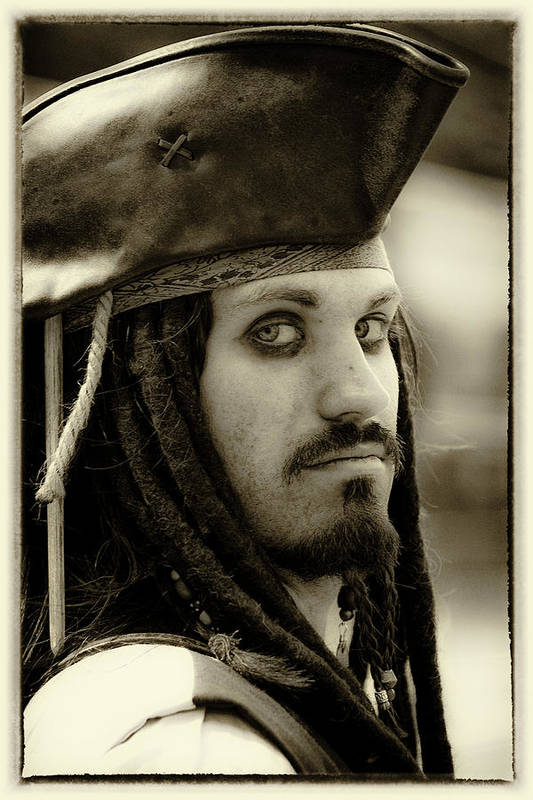 Pirate Art Print featuring the photograph Captain Jack Sparrow by David Patterson