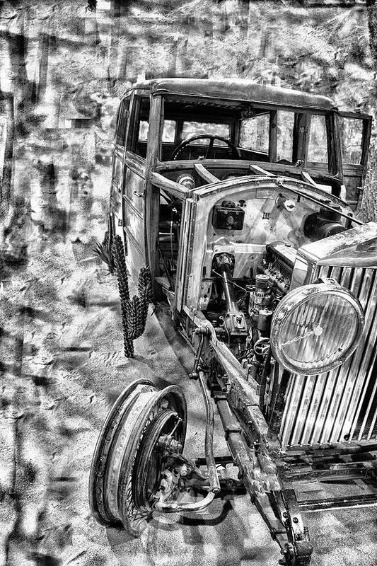 Art Print featuring the photograph Car Comp 1a by Dennis Sullivan