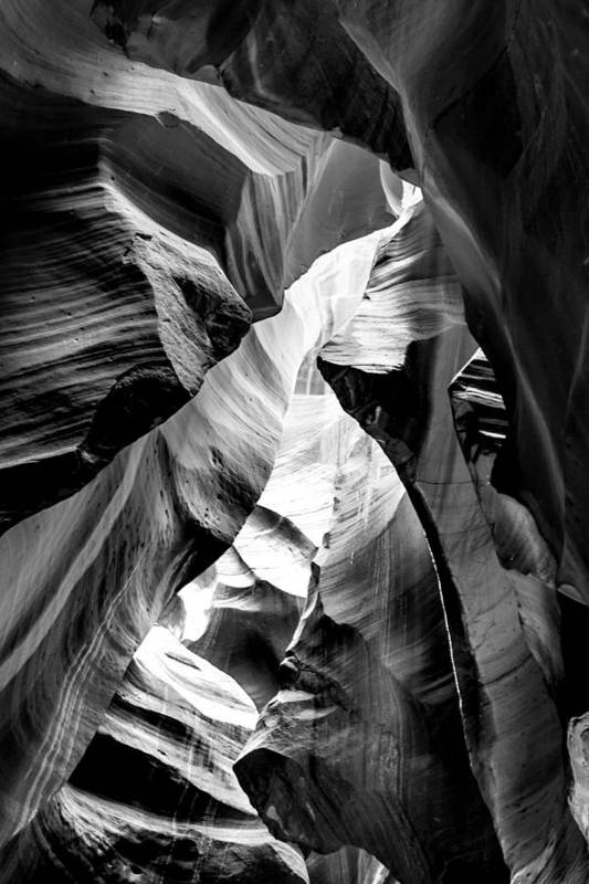 Antelope Canyon Art Print featuring the photograph Cathedral Cave by Az Jackson