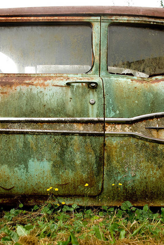 Cars Art Print featuring the photograph Circle Of Life by Jennifer Owen