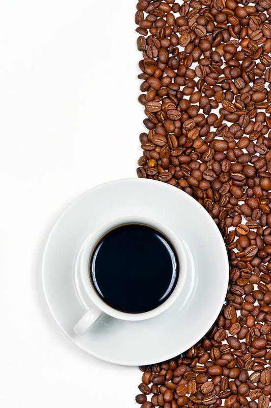 Aroma Print featuring the photograph Coffee by Gert Lavsen