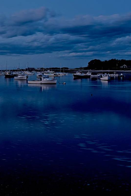 Cohasset Art Print featuring the photograph Cohasset Harbor Portrait by Gene Sizemore