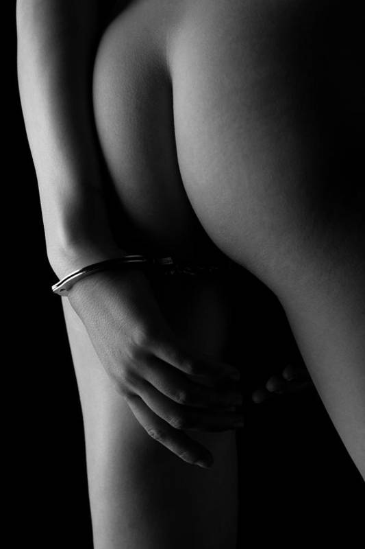 Artistic Art Print featuring the photograph Cuffed To The Rear by Stuart Thomson