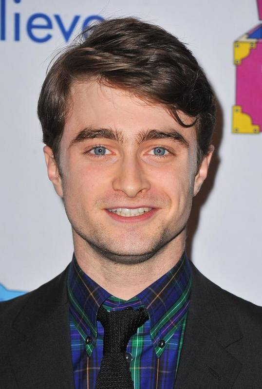Daniel Radcliffe Art Print featuring the photograph Daniel Radcliffe At Arrivals For Only by Everett