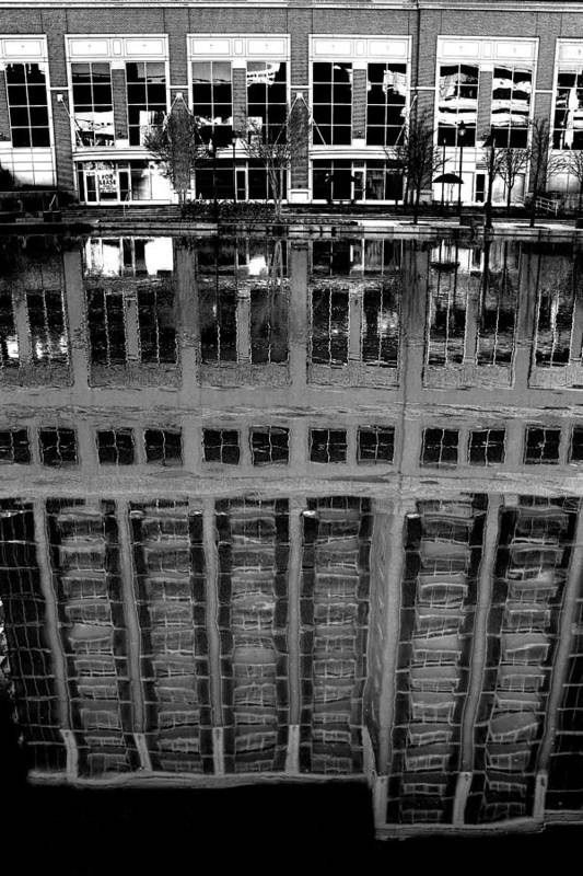 Reflection Art Print featuring the photograph Dark Reflection by Tim Wilson