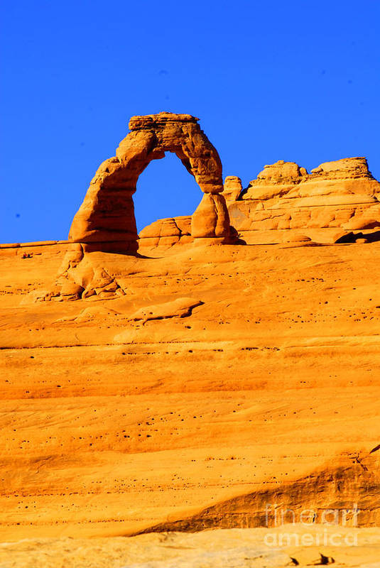 Arches Art Print featuring the photograph Delicate Arch by Dennis Hammer