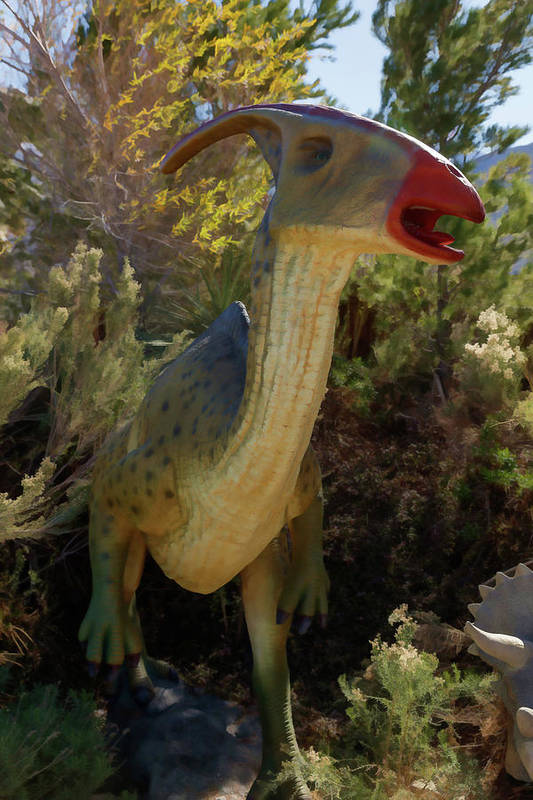 Dinosaur Art Print featuring the photograph Dinosaur 11 by Mike Penney