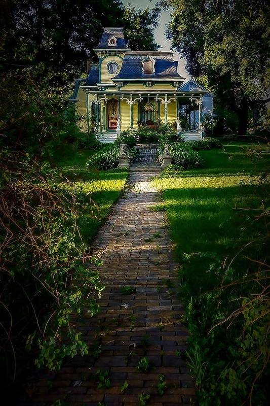 Art Print featuring the photograph Doll House by Kendall McKernon