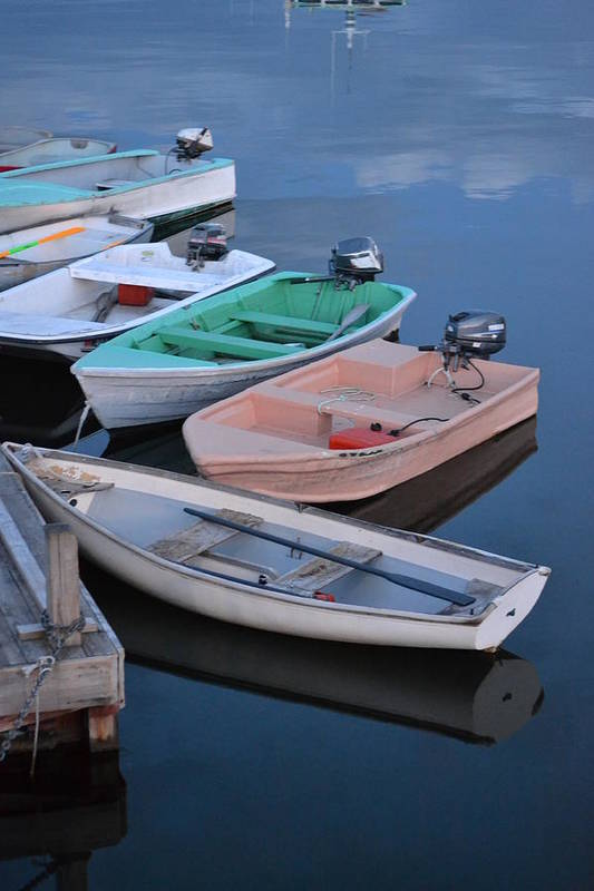 Boats Art Print featuring the photograph Done Fishing by Beverly Webster