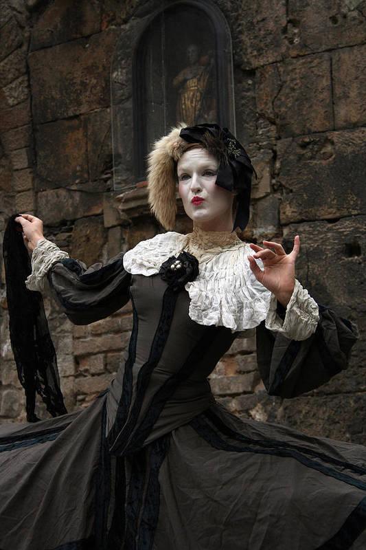 Drama Art Print featuring the photograph Drama In The Gothic Quarter by Jason Hochman