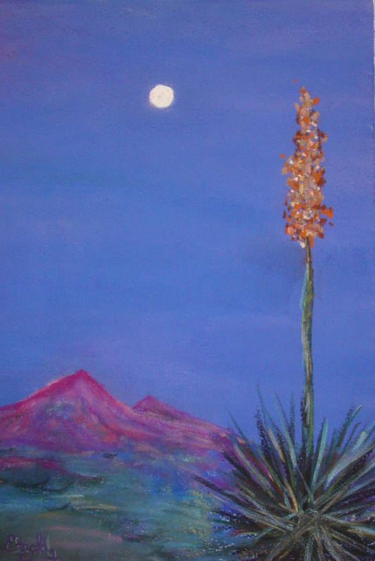 Evening Art Print featuring the painting Dusk by Melinda Etzold