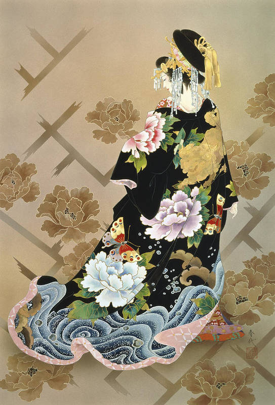 Haruyo Morita Art Print featuring the photograph Echigo Dojouji by Haruyo Morita
