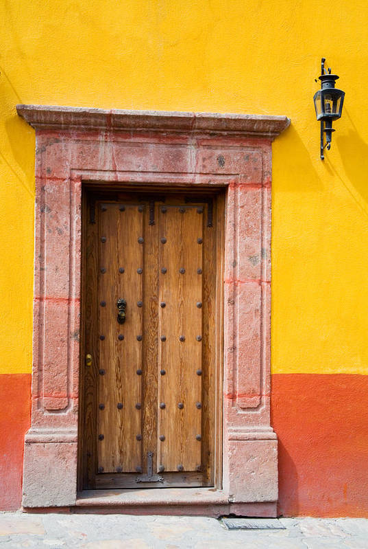 Access Art Print featuring the photograph Fancy Door by Eggers Photography