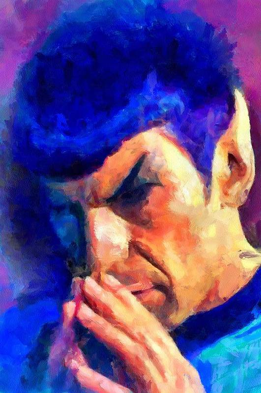 Spock's Fascinating art poster