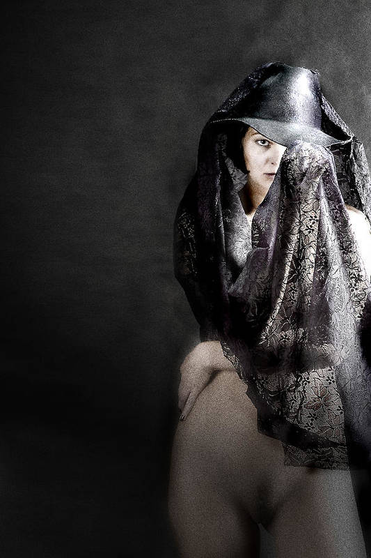 Art Print featuring the photograph Femme Fatale by Zygmunt Kozimor