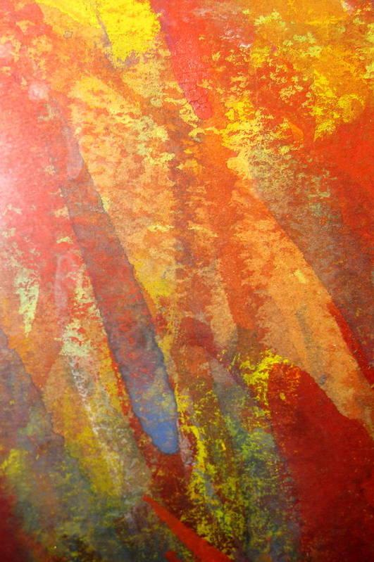Fire Art Print featuring the photograph Firedance by Belinda Consten
