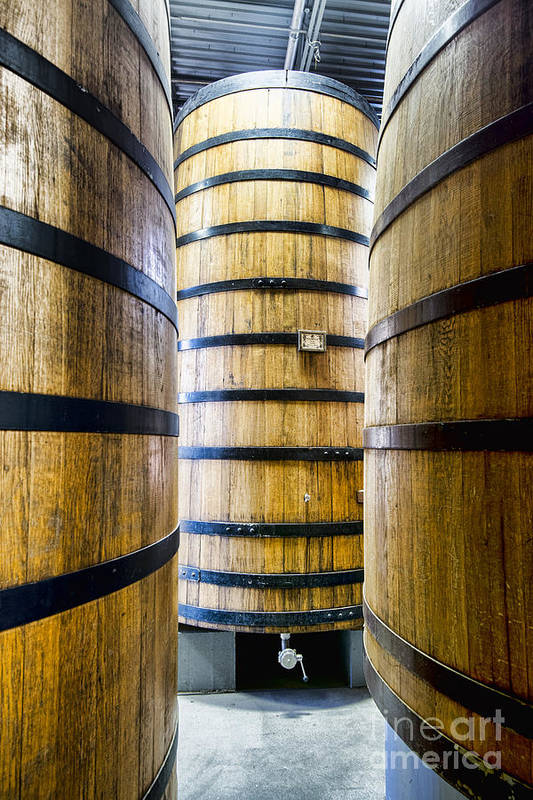 New Belgium Brewery Art Print featuring the photograph Foeder No. 32 by Keith Ducker