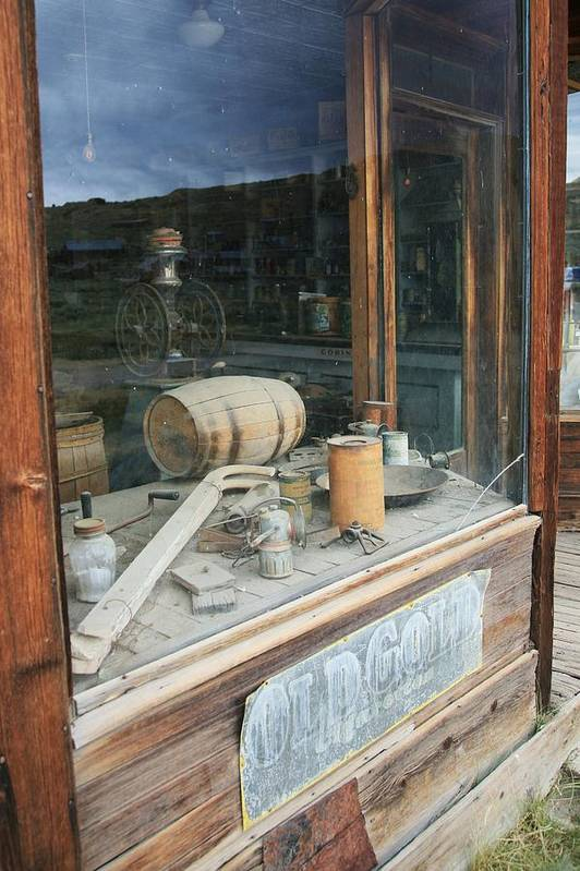 Bodie Art Print featuring the photograph General Store by Carl Hinkle