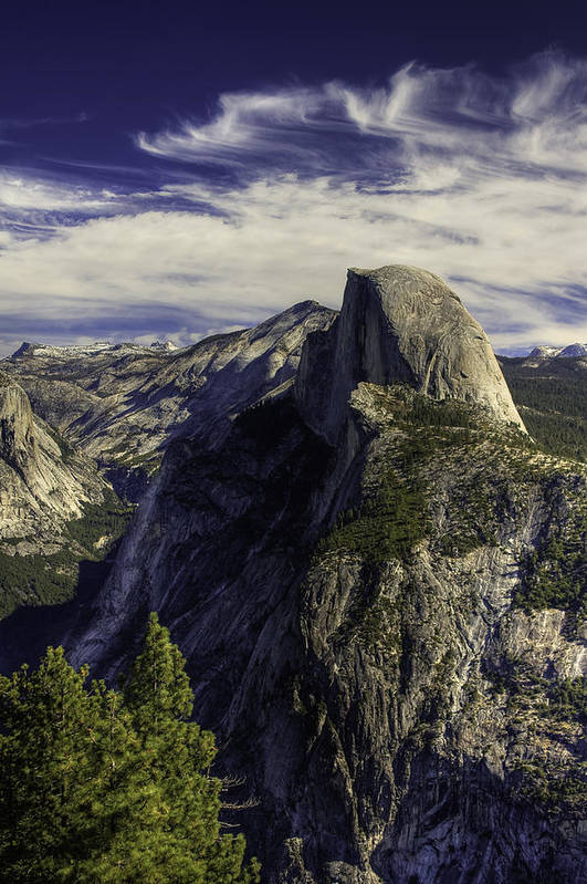 Yosemite Art Print featuring the photograph Glacier Point by Jim Riel