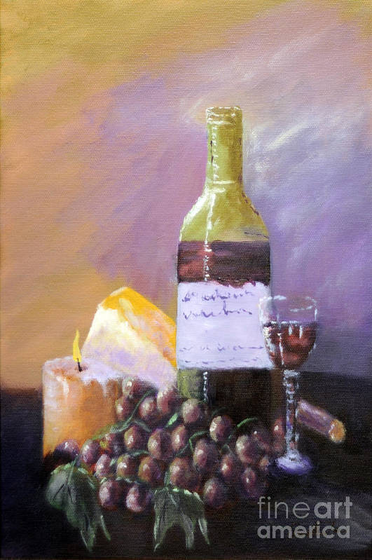 Still Life Art Print featuring the painting Harvest by Annette Tan