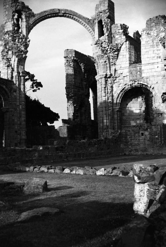 Monestery Art Print featuring the photograph Hexam Abbey In England IIi by Richard Singleton