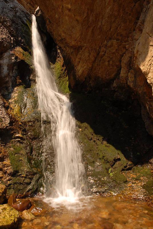 Waterfall Art Print featuring the photograph Hidden Falls by Dennis Hammer