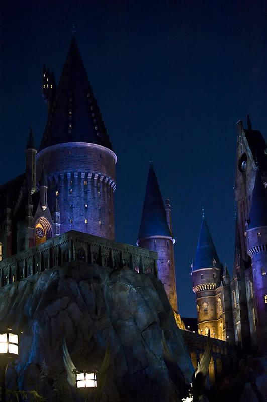 Disney Art Print featuring the photograph Hogwarts by Sarita Rampersad