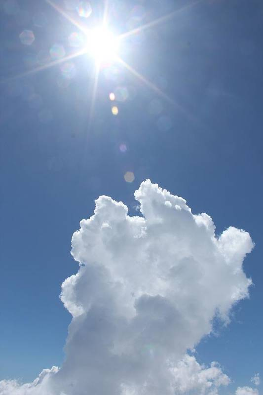 Cloud Art Print featuring the photograph Hope by John Connor Bray
