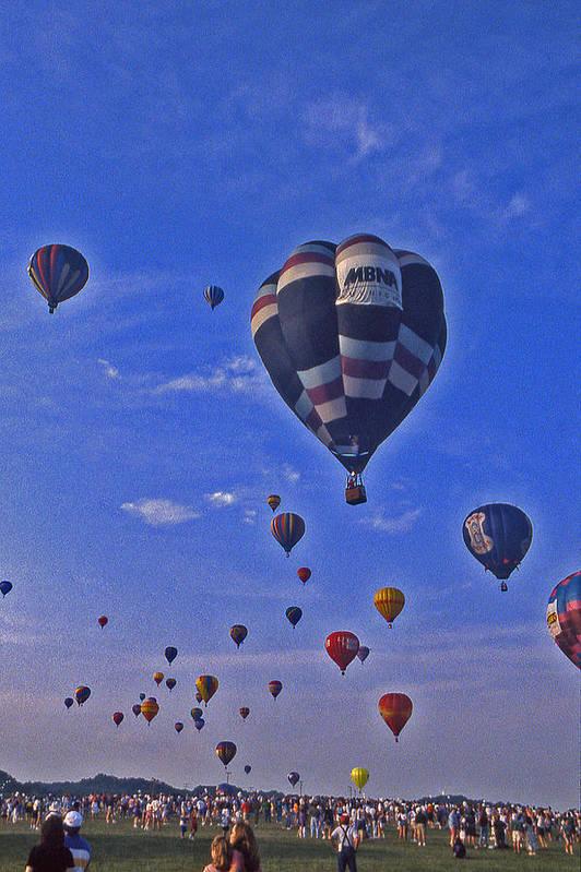 Hot Air Balloon Art Print featuring the photograph Hot Air Balloon - 14 by Randy Muir