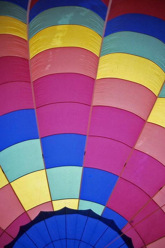 Hot Air Balloon Art Print featuring the photograph Hot Air Balloon - 9 by Randy Muir