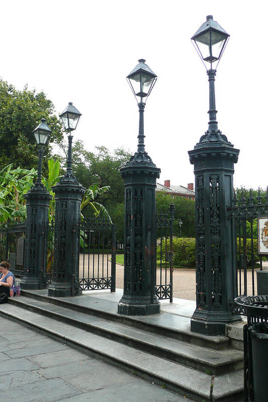 Jackson Square Art Print featuring the photograph Jackson Square by Kathy Schumann