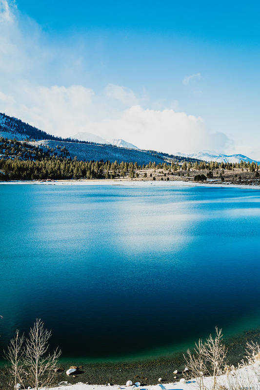 Water Art Print featuring the photograph June Lake by Hyuntae Kim