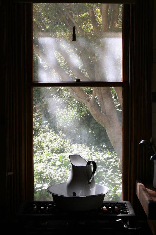 Still Life Art Print featuring the photograph Kitchen Window by Brande Barrett