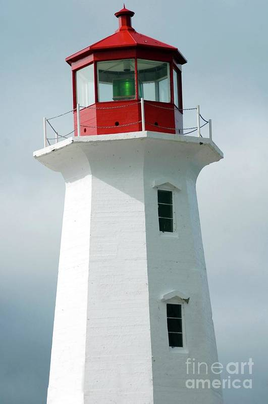 Lighthouse Art Print featuring the photograph Light House Peggy's Cove by Kathleen Struckle