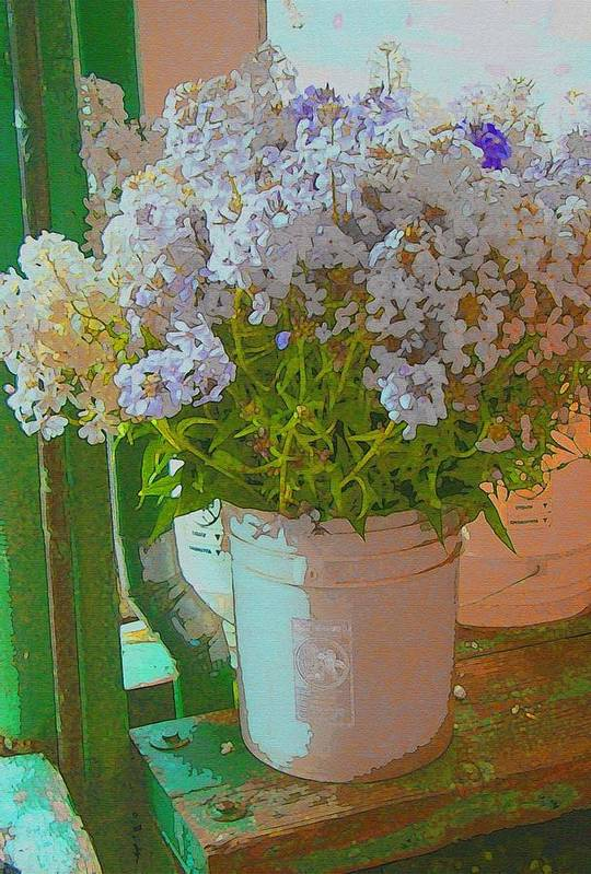 Lilacs Art Print featuring the photograph Lilacs by Lydia L Kramer
