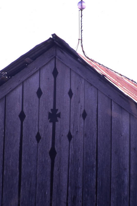 Art Print featuring the photograph Lloyd Shanks Barn by Curtis J Neeley Jr