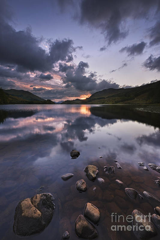 Scotland Art Print featuring the photograph Loch Lubhair by Rod McLean