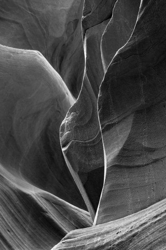 Slot Art Print featuring the photograph Lower Antelope Canyon 2 7968 by Bob Neiman