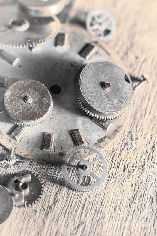 Machine Art Print featuring the photograph Mechanical Art by Jorgo Photography - Wall Art Gallery