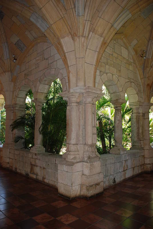 Architecture Art Print featuring the photograph Miami Monastery by Rob Hans