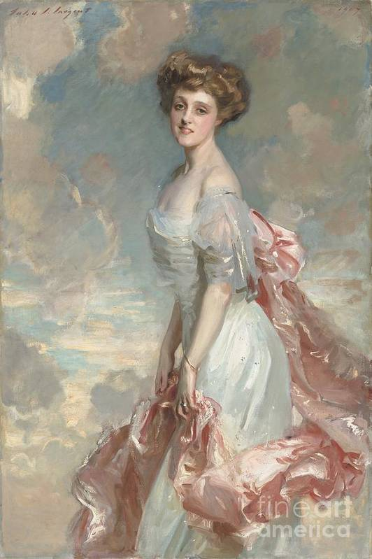 Art Print featuring the painting Miss Mathilde Townsend by John Singer Sargent
