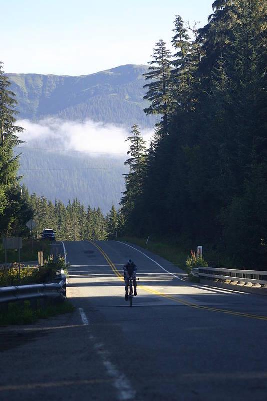 Juneau Art Print featuring the photograph Mountain Ride by Jeffrey Ober