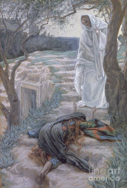 Noli Art Print featuring the painting Noli Me Tangere by Tissot